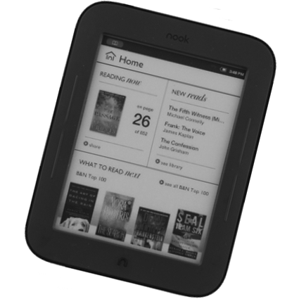 Nook Touch от Barns Noble