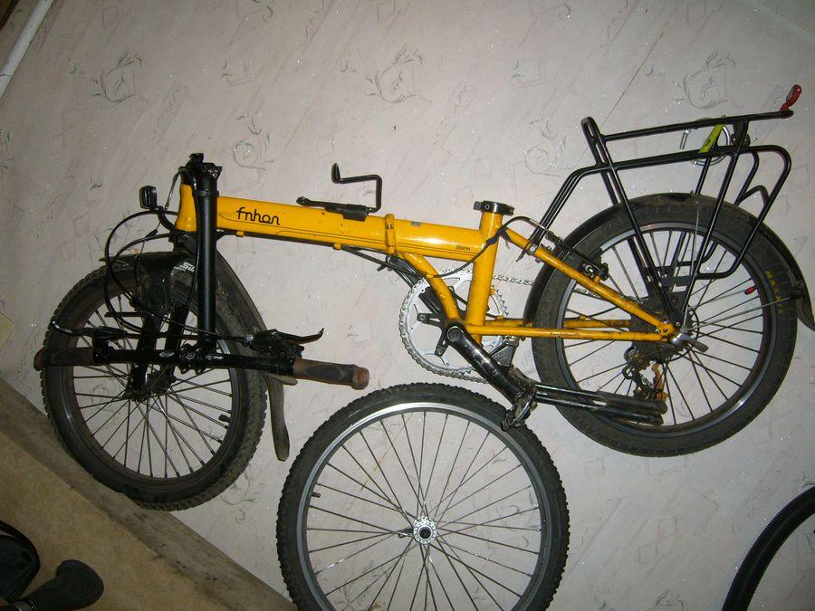 Складной велосипед fnhon 20