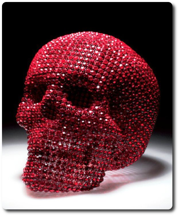 Гламурные картинки с черепами полностью