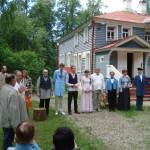 Спектакль в Щелыково